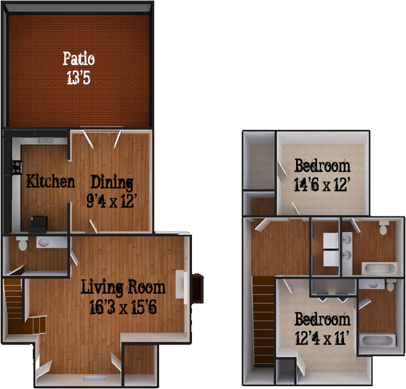 Greenbriar Apartments: Hendley Properties, Statesboro, GA